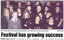 2003 Festival Newspaper article