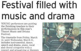 2004 Festival Newspaper article