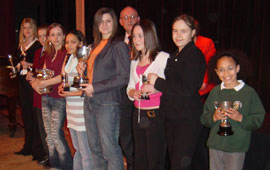 2006 Festival Vocal Prize winners
